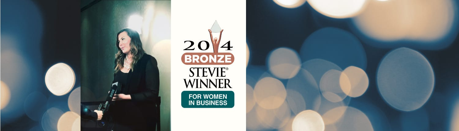 Recent News | SEARCH Group Partners CEO wins 2014 Stevie Award 'Women in Business""
