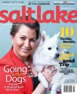 Salt-Lake-Magazine-Cover-Issue_Ema-Ostarcevic_SGP_May-June-2015_Going-to-the-Dogs